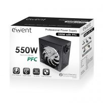 Professional Power Supply 550W with PFC