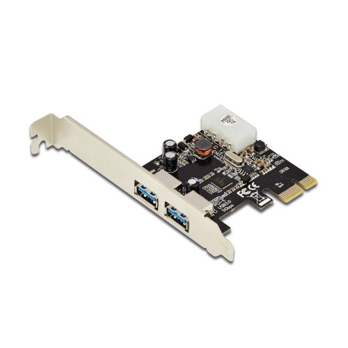 USB 3.1 Gen1 (USB 3.0) PCI-e Card, 2 Ports